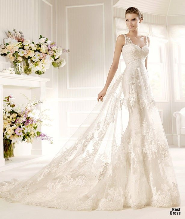 Perfect Wedding Dresses wedding dresses wedding glamour featured fashion I want thismone someday!! (=