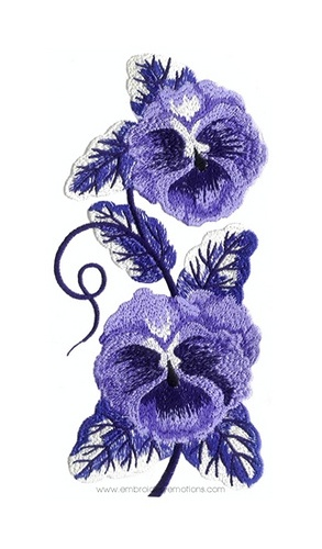Flower Linen Machine Embroidery Designs