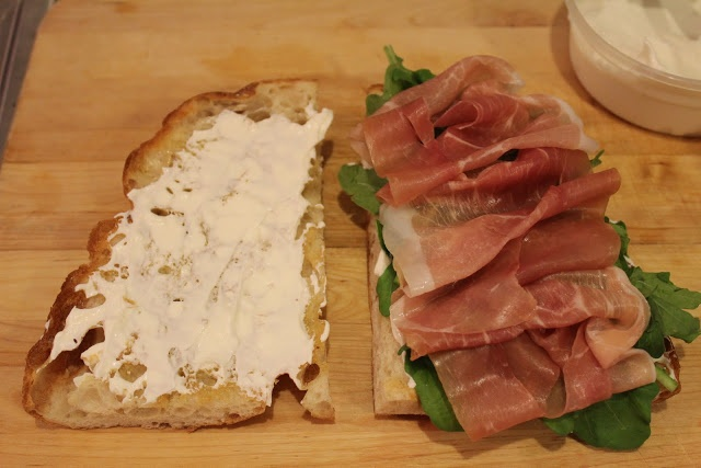 prosciutto and arugula sandwiches with fromage blanc | Sandwiches and ...