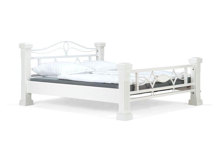 Bett weiß metall ikea  Die besten 25+ Bett weiß 180x200 Ideen auf Pinterest | Bett ...