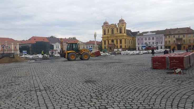 Statuile din centrul istoric al Timișoarei, care vor urma să fie montate inclusiv până la sfârșitul acestui an, după spusele primarului Nicolae Robu,