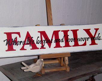 Familie waar het leven begint en liefde nooit krijt kunst