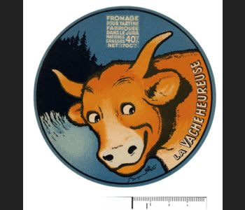 """La vache qui rit est certainement l'une des marques françaises la plus copiée et imitée. ...Ici, """"la vache heureuse"""", marque de défense déposée par Léon Bel lui-même pour éviter qu'un concurrent n'utilise ce nom, jugé trop proche de La vache qui rit. Peine perdue, puisque quatre ans après, la société Graf commercialise une """"vache heureuse"""".  http://www.lamaisondelavachequirit.com/tout-sur-la-marque/la-vache-qui-rit-sa-vie-son-oeuvre.html"""