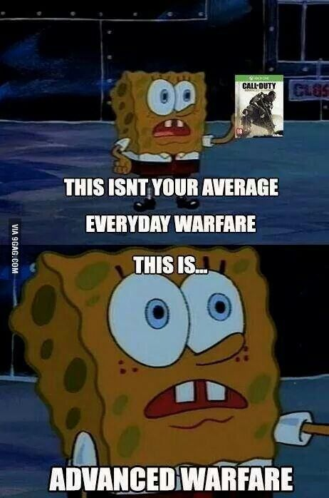 CoD: Advanced Warfare. I love this pic^ probably find it a little funnier than I should...