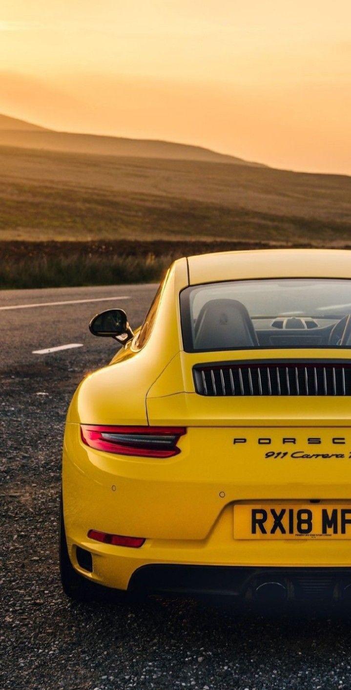 Pin By Dev Editx On Waℓℓraryers Porsche 911 Carrera Porsche Yellow Car