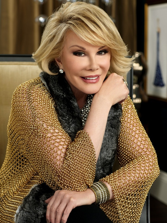 RIP Joan Rivers.. So funny, so fabulous, and always fierce. I adore so many traits about This woman..