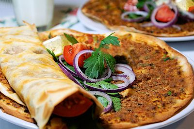 Tyrkisk pizza (Lahmacun)