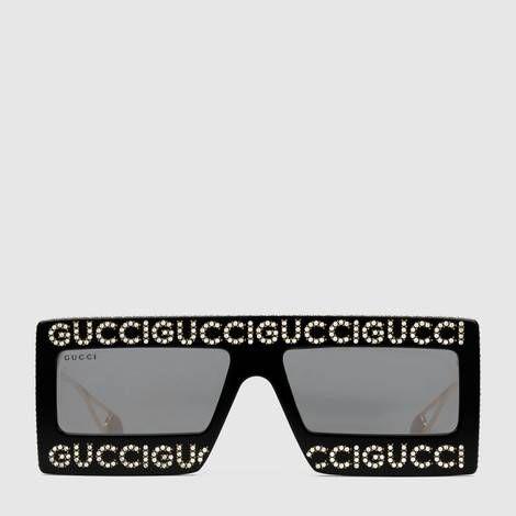 7303862d7e7c1 Mask-frame acetate sunglasses