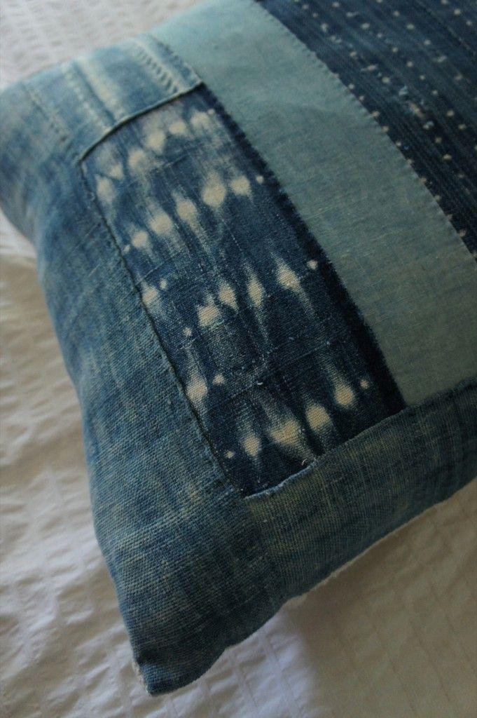 手机壳定制air max  junior pink Vintage African and Japanese Indigo Textiles