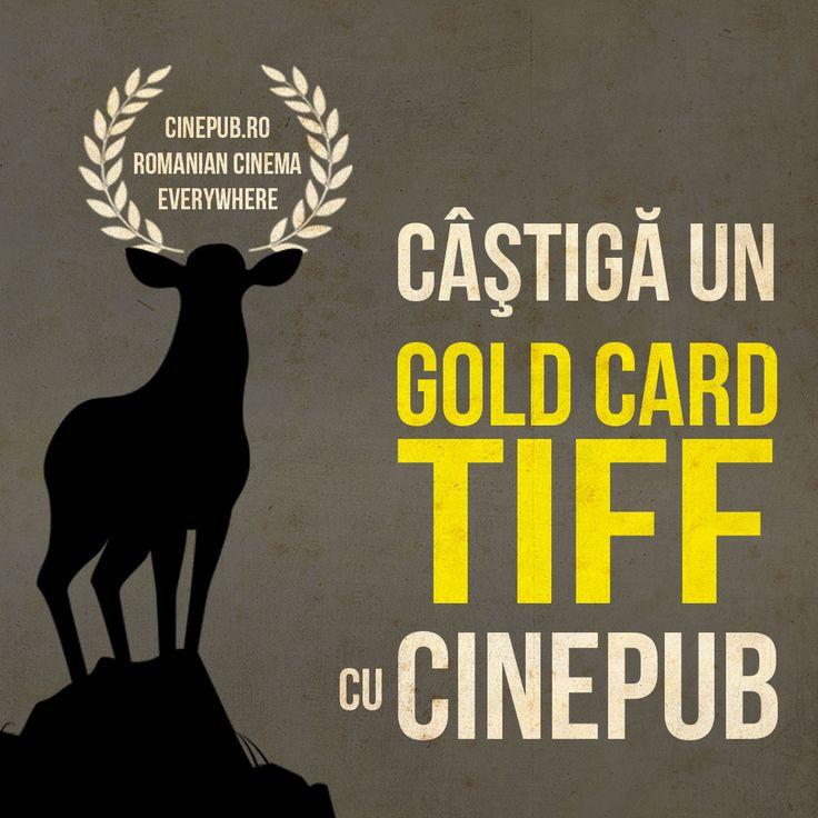 Proiect Cinepub-TIFF pentru cei care vor să aibă o săptămână plină de filme, petreceri și evenimente la Cluj. http://bit.ly/concursTIFF-Cinepub