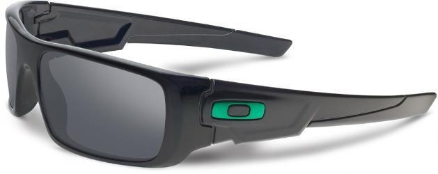 Oakley Crankshaft Sunglasses Polished Black Black Iridium