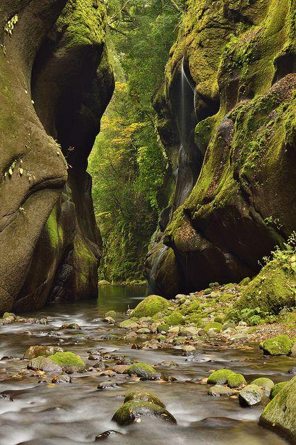 Yufugawa Gorge, Oita, Japan 大分県 由布川峡谷