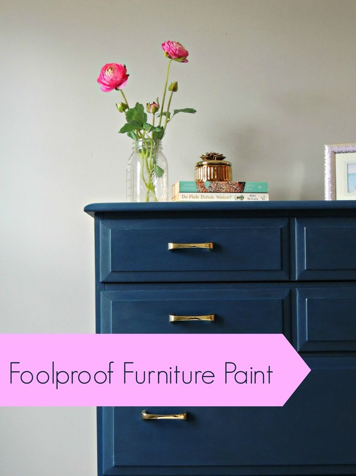 A DIYer's dream! No more brush strokes! Foolproof furniture paint! | Wife in Progress