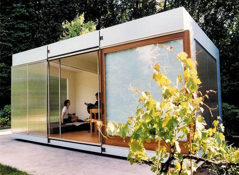 #Gartenhaus