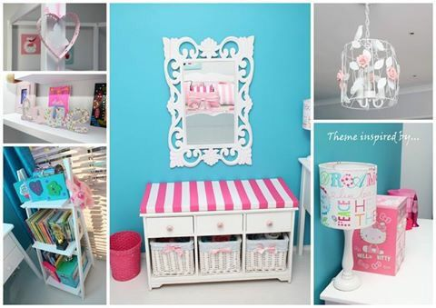 Girls room redecoration project