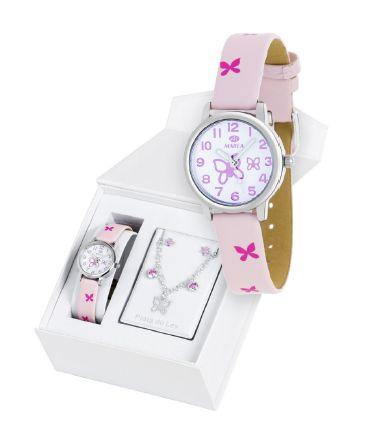 MAREA WATCH set orologio e parure argento925 da Malaguti Ovada