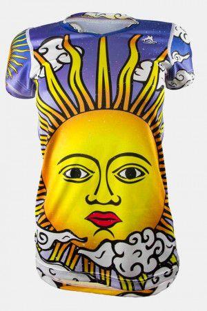 Playeras Deportivas Triferrari del Sol de Lotería. Para ver todos nuestros modelos de #Blusas #Deportivas #Mujer que tenemos con descuento y envio a todo #Mexico puedes darle click en el link y checar los mas de 60 modelos que tenemos de #playerasdeportivas para mujer.