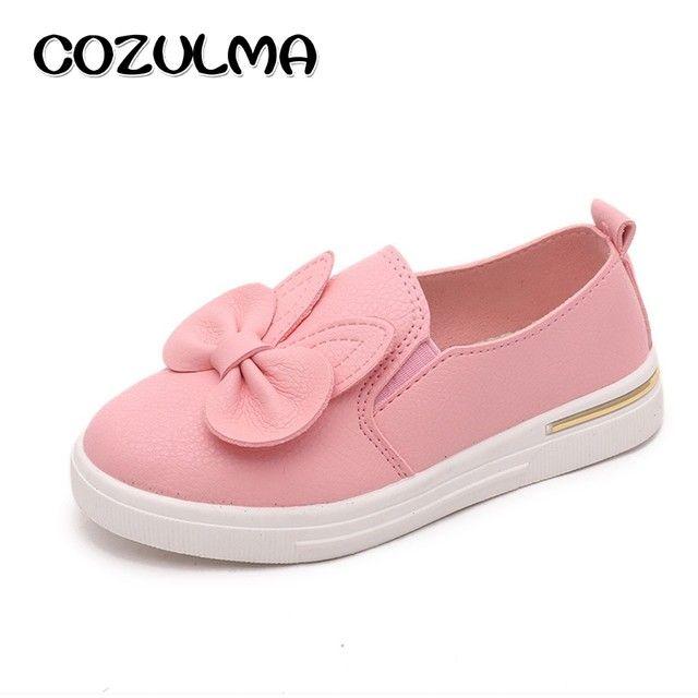 d7c98135ab 8.83 32% de DESCUENTO Aliexpress.com: Comprar COZULMA calidad otoño lindo  conejo niños zapatillas niñas princesa Zapatos Niños patines zapatos niñas  zapato ...
