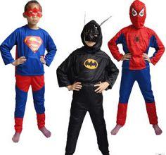Vestito di carnevale supereroi Batman, Supermen, Spiderman per bambino. http://s.click.aliexpress.com/e/QR3VRn6