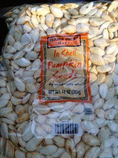 Trader Joe's In Shell Pumpkin Seeds!!!