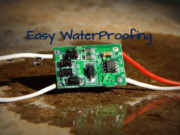 Easy Waterproofing Electronics