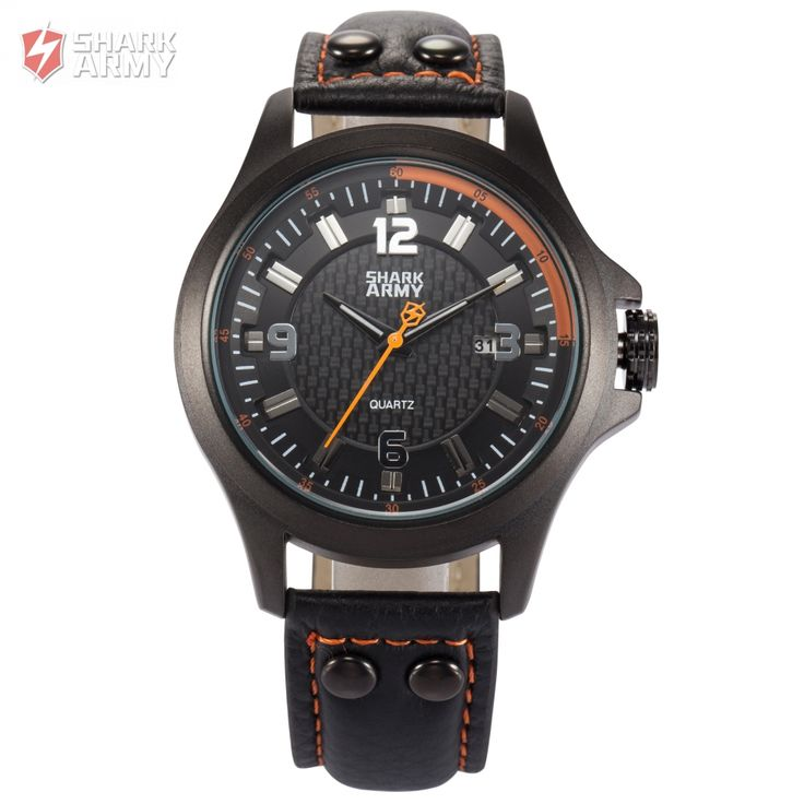 SHARK ARMY Military Watch Army Collection Avenger Series Model SAW145 Quartz Wrist Watches //Price: $35.98 & FREE Shipping //         #SharkArmyWatch