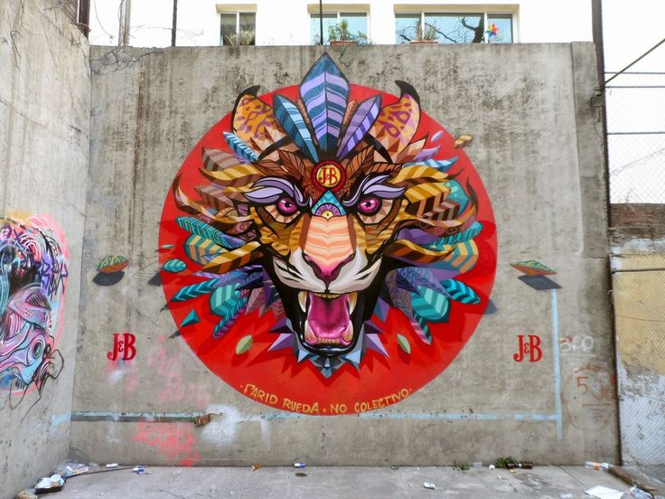 Farid Rueda unveils a new series of murals on the streets of Mexico Street Art News