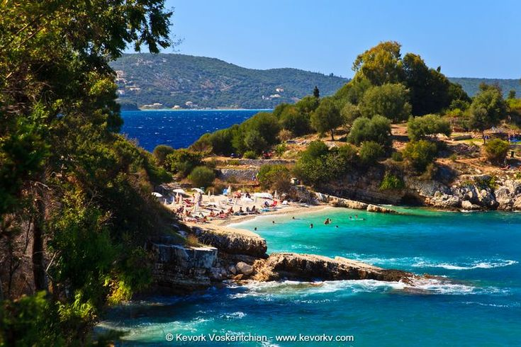 The Beaches In Corfu - Bataria & Kanoni ( Kassiopis )