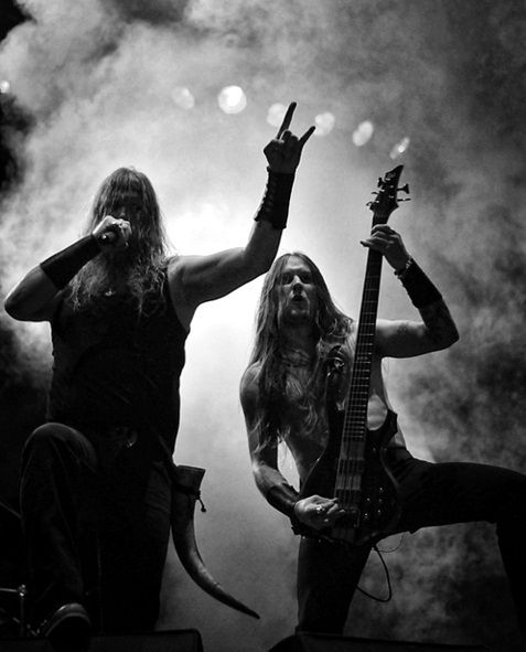 Amon Amarth...I get chills remembering that concert