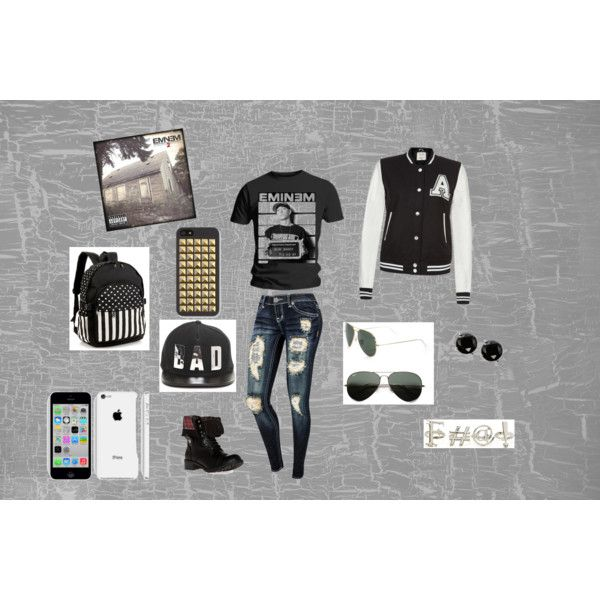 """Slim Shady"" by anellis on Polyvore"