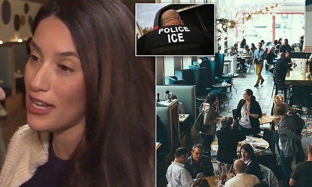 ICE agents eat before arresting 3 at Michigan restaurant | Daily Mail Online