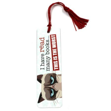 Ganz Grumpy Cat This is The Worst Novelty Bookmark