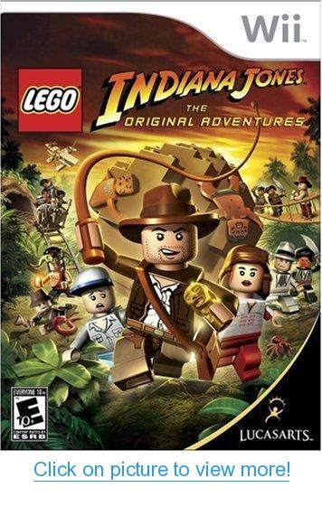 Lego Indiana Jones: The Original Adventures - Nintendo Wii #Lego #Indiana #Jones: #Original #Adventures #Nintendo #Wii