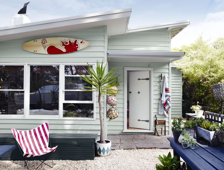 Holiday Beach House - Get the Look, Dulux Paints #happydays #whitebox #lexiconquarter