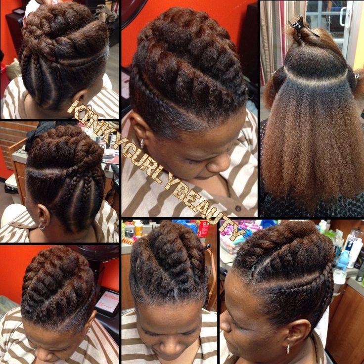 Pretty Flat Twist Updo - http://community.blackhairinformation.com/hairstyle-gallery/updos/pretty-flat-twist-updo-2/ #updos