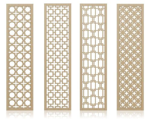 Redi Screens Decorative Wood Dividers (So many possible applications such as room partitions,headboard,hanging or mounted screens)