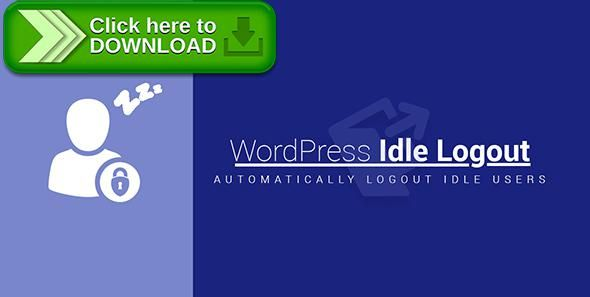 [ThemeForest]Free nulled download WordPress Idle Logout from http://zippyfile.download/f.php?id=58487 Tags: ecommerce, idle logout, idle timeout, login timeout, wordpress auto logout, wordpress idle logout, wordpress idle timeout, wordpress logout