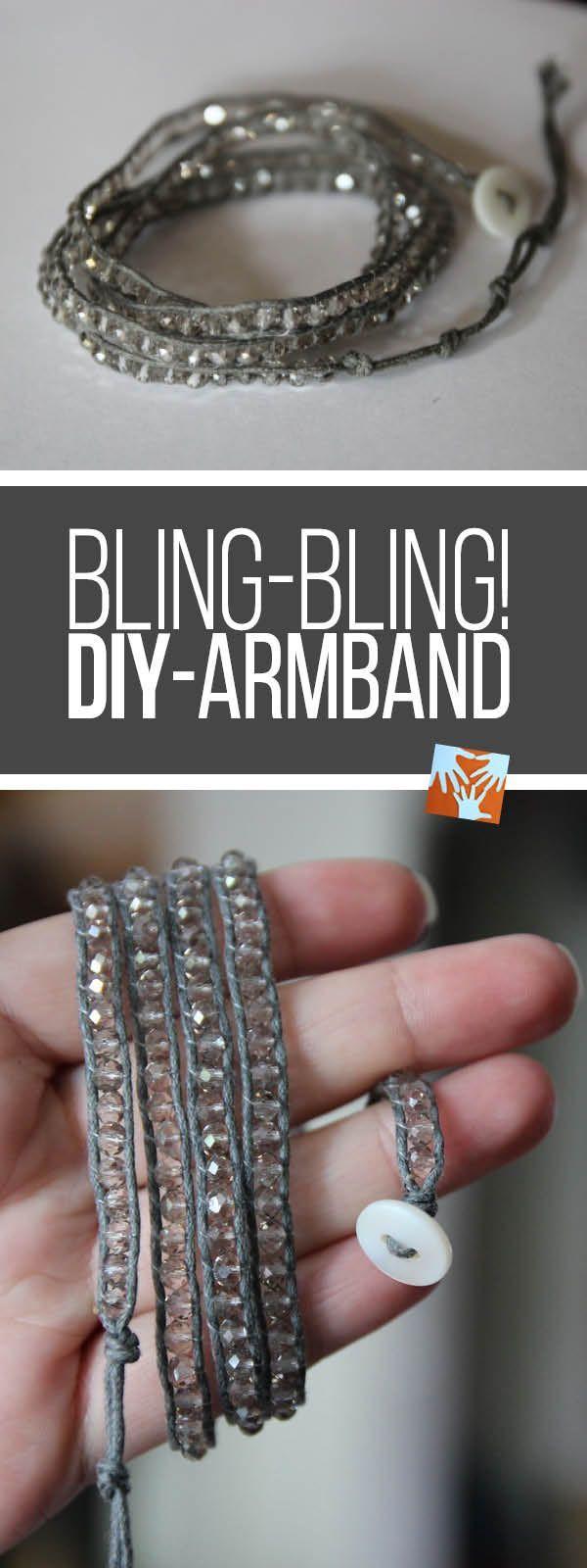 Bling-Bling! Einfaches DIY-Armband mit Wow!-Effekt – Mamablogger – die Pinterest Gruppe