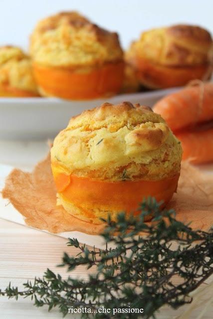 Muffin con carote e robiola al profumo di timo e limone INGREDIENTI 200 gr di…