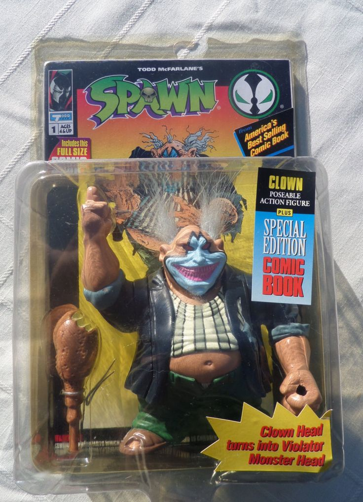 1994 McFarlane Spawn Clown Violator Variant Series 1 Comic Book by Thistleandpouch on Etsy