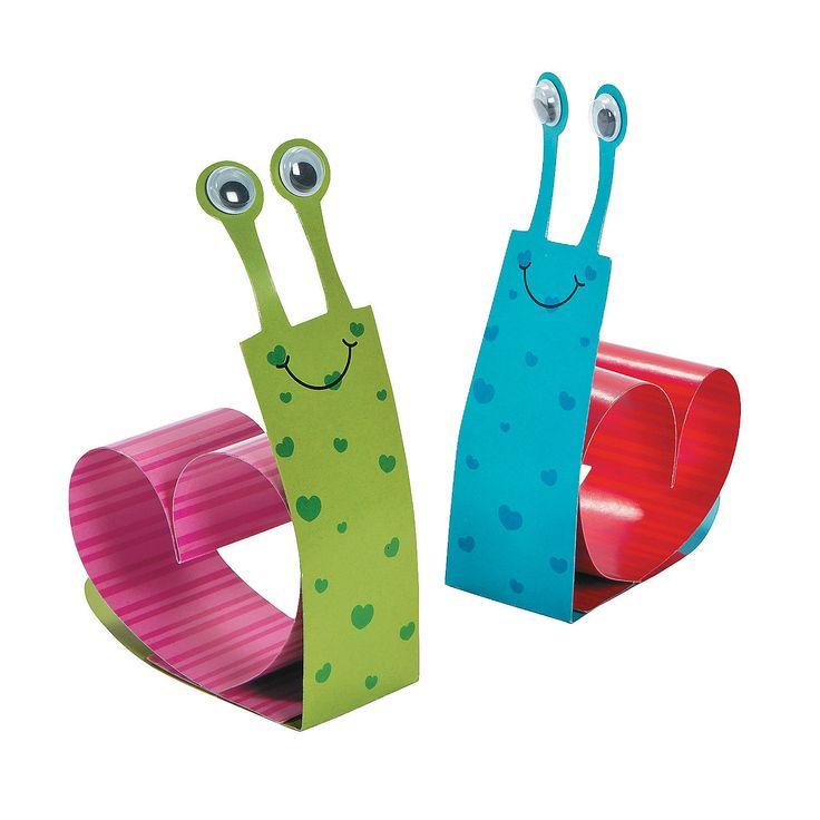 Heart Snail Craft Kit - OrientalTrading.com