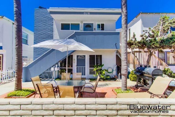 San Diego Vacation Rentals, Bay Court I Mission Beach Rental, Close to Ocean