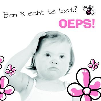 Dubbele kaart te bestellen via  www.blijbijkrijn.nl  vierkant formaat  €2.95