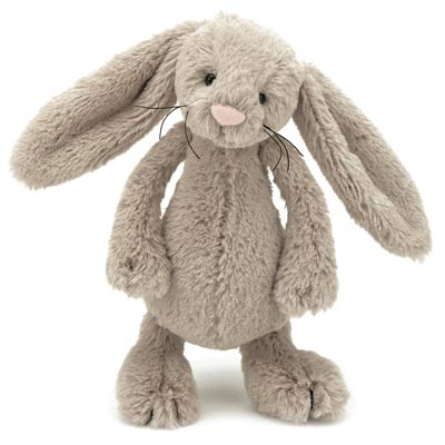 Bashful Beige Bunny Small - Elsie has 4 of these in different sizes!