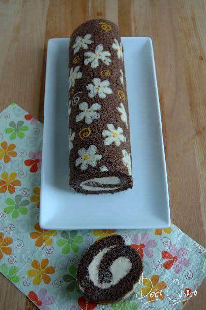 Deco Choco: roll cake