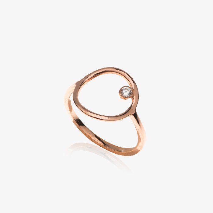 Circle Shape Ring