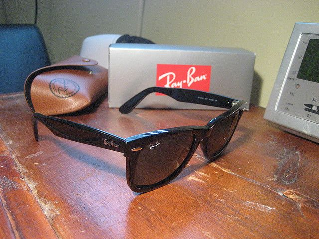 #Sunglasses,Ray Ban Wayfarer 2140 901 50/22 Sunglasses...