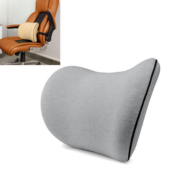 Modern Sofa Pop Back Cushion Universal Office Car Seat Waist Support Pillow Memory Foam Pad