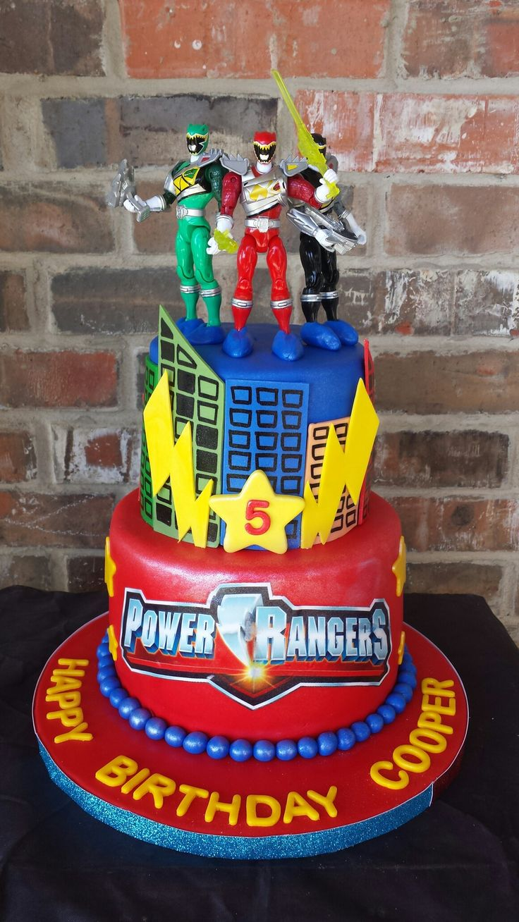 Power Rangers Cake by Max Amor Cakes.