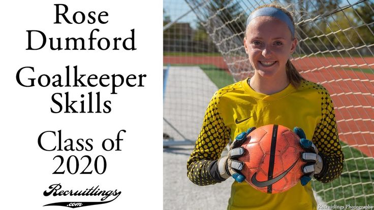 Rose Dumford Soccer   Goalkeeper Skills   Class of 2020   Fall 2017 ⚽
